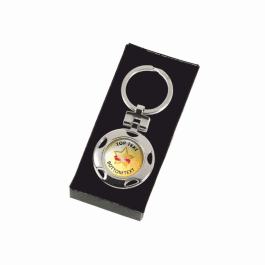 Personalised Keyring - Gold Star Design
