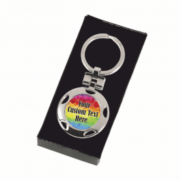 Personalised Keyring - Multi Customised Design