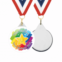 Rainbow Custom Medals & Ribbons