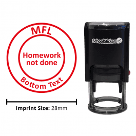 MFL Stamper - Homework Not Done