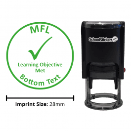 MFL Stamper - Learning Objective Met