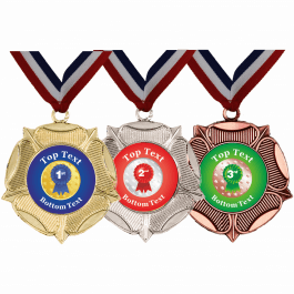 Mixed Medals & Ribbons - Rosette Designs