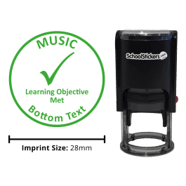 Music Stamper - Learning Objective Met