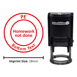 PE Stamper - Homework Not Done