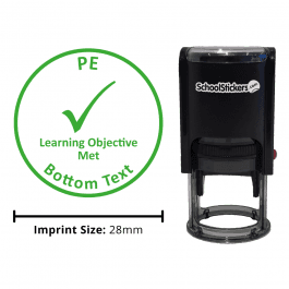 PE Stamper - Learning Objective Met