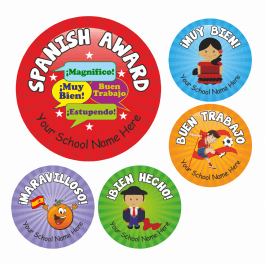 Primary Spanish Stickers Set 2