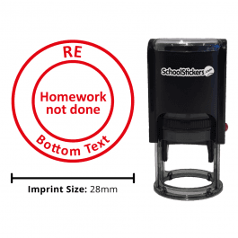 RE Stamper - Homework Not Done