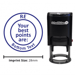 Personalized RE Grading Stamp - Your Best Points Are