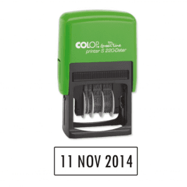 Colop Self Inking Dater Stamp