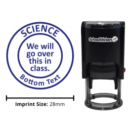 Science Stamper - We Will Go Over This In Class