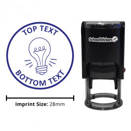 Personalized Grading Stamp - Light Bulb