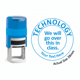 Technology Stamper - We Will Go Over This In Class