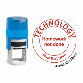 Technology Stamper - Homework Not Done