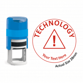Technology Stamper - Warning Triangle
