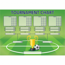 'Football Tournament' Class Reward Chart and Stickers