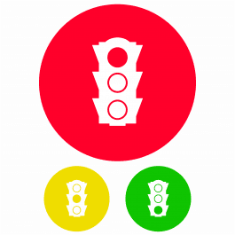 Traffic Lights Learning Stickers