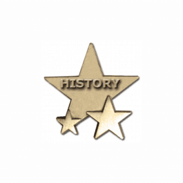 An image of History Star Badge