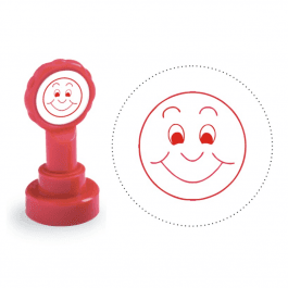 Xclamation Smiling Face Stamp