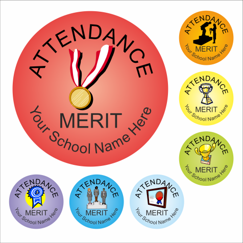 Attendance Reward Stickers