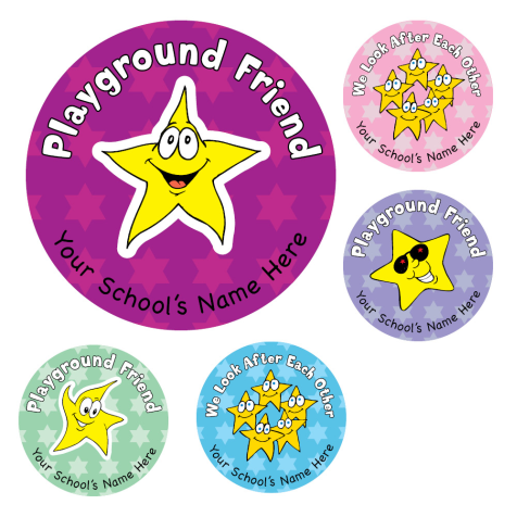 Playground Award Stickers