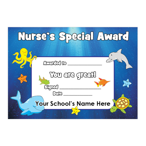 Hospital Certificate Design 3 | For Teachers