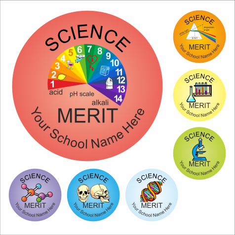Science Reward Stickers - Classic