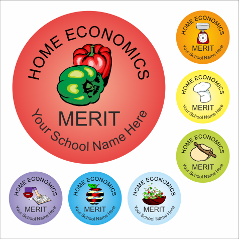 Home Economics Reward Stickers - Classic