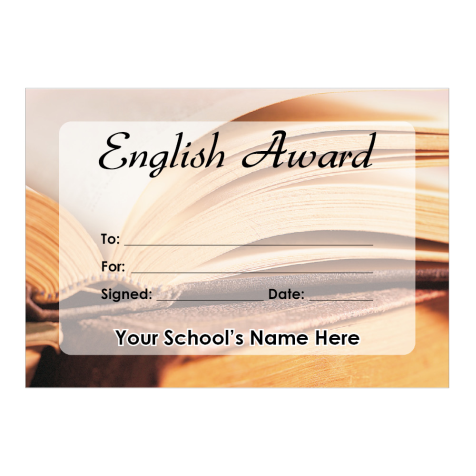 English Certificate Set 1