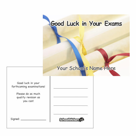 Good Luck in Your Exam Postcards