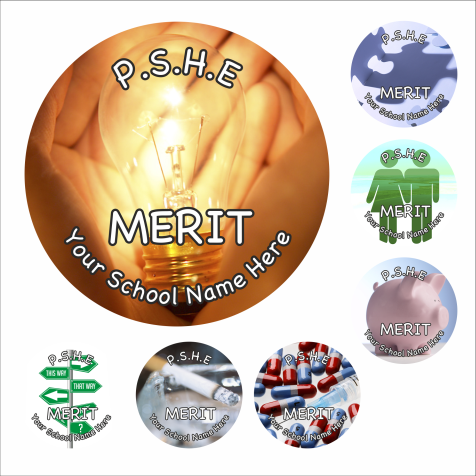 PSHE Reward Stickers - Photographic