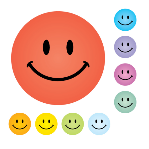 Mini Smile Stickers