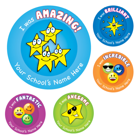 I Was Amazing Stickers
