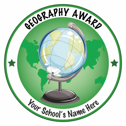 Super Sized Geography Award Stickers