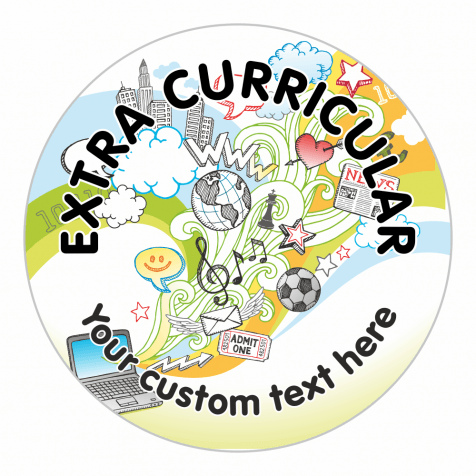 Extra Curricular Doodle Stickers