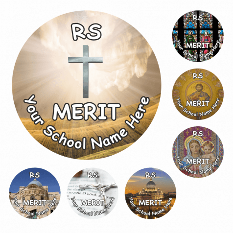 RS Snapshot Reward Stickers - Christianity
