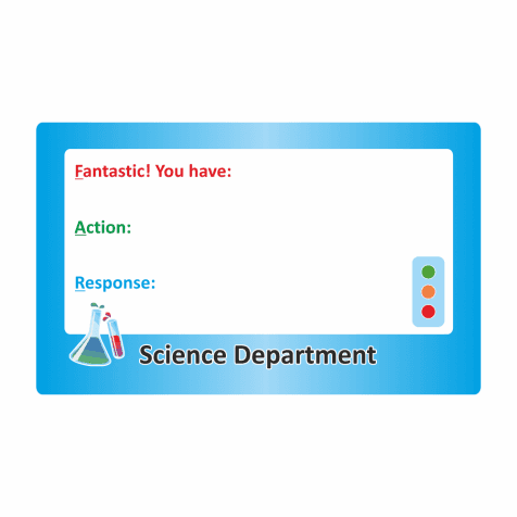 KS3 Science F.A.R Marking Stickers