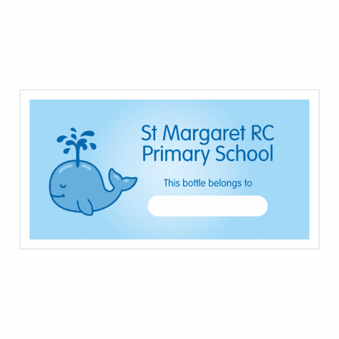 70 PERSONALISED STICKERS LabelsTeacher School Reward WhaleColour Choice