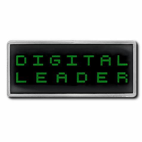 Digital Leader Pixel Lapel