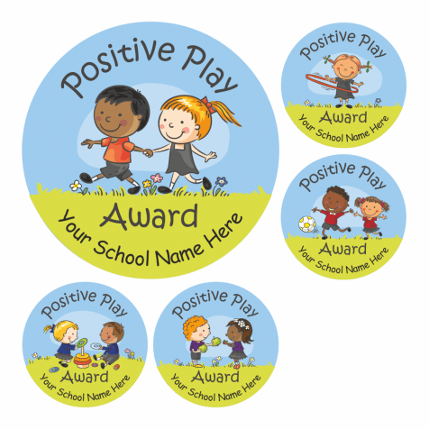 Children's Positive Play Stickers