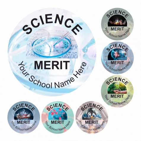 Science Capture Stickers