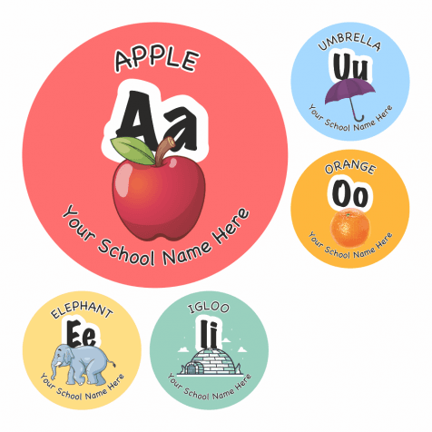 Phonic Vowel Stickers