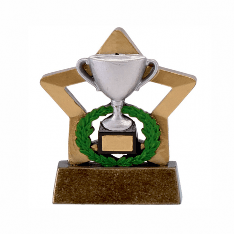 Silver Trophy Mini Star Trophy
