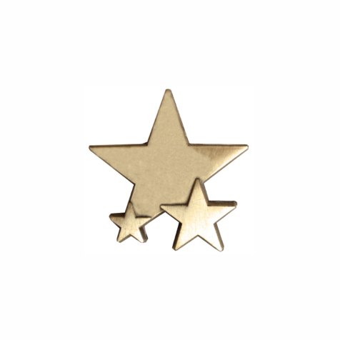 Plain Triple Star Badge