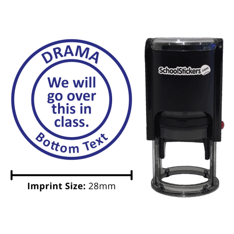 Drama Stamper - We Will Go Over This In Class