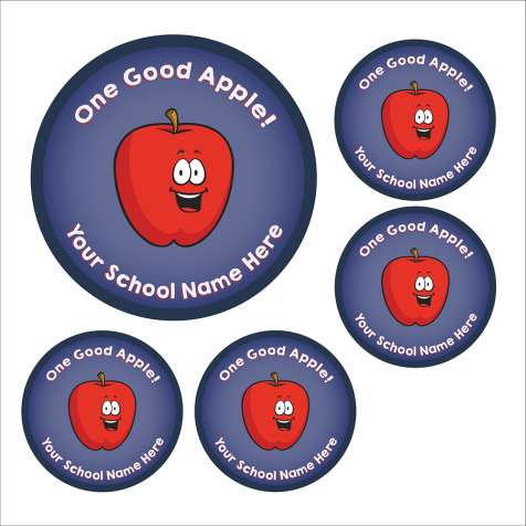 'One Good Apple' Stickers