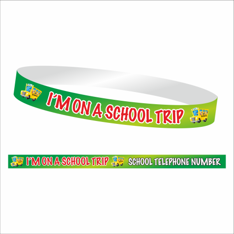 School Trip Wristbands