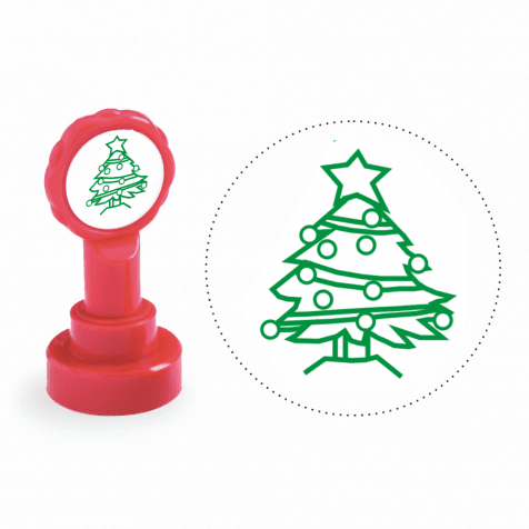 Xclamation Christmas Tree Stamp