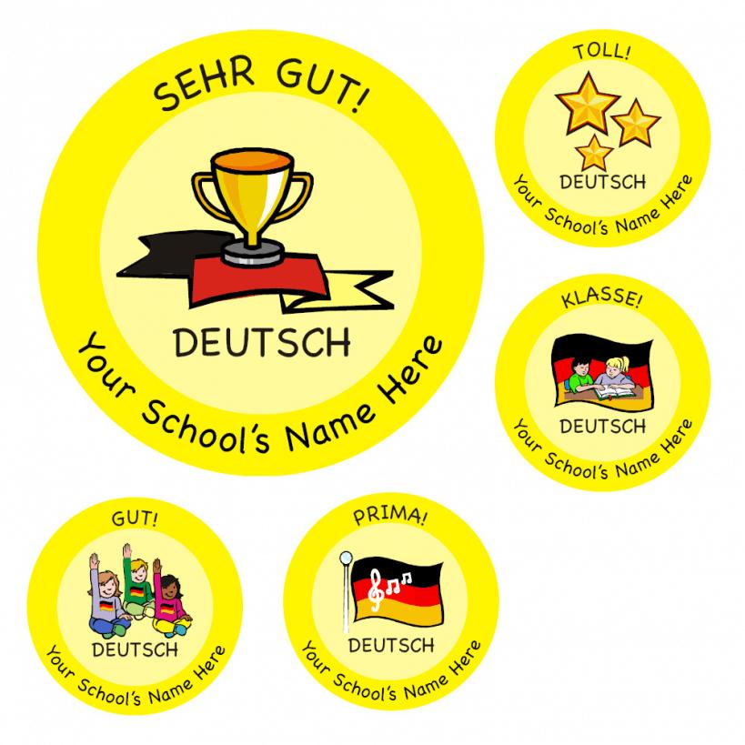 Primary german stickers