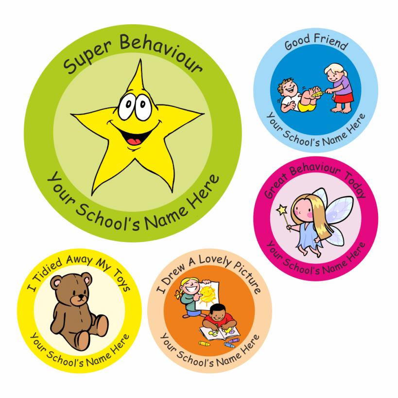 Encourage Good Behaviour Stickers
