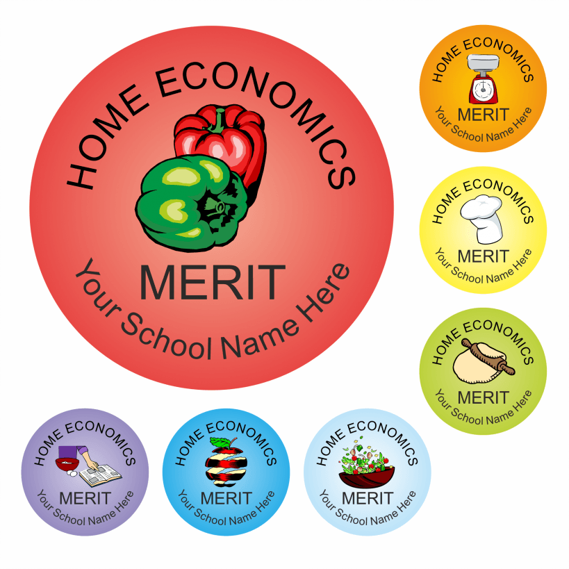 Home Economics Multi Reward Stickers | For Teachers